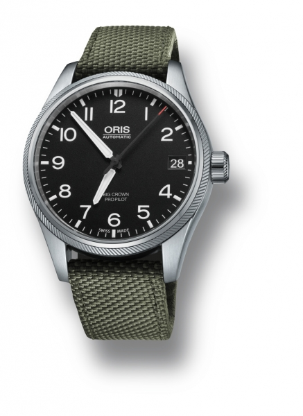 ORIS BIG CROWN PROPILOT DATE  i gruppen Varumärken / Oris / Aviation hos Rydbergs Ur (0175176974164-0752014FC)